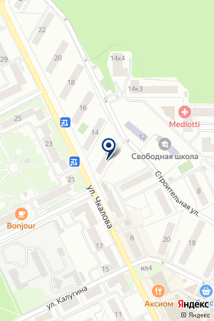 ЖКХ ЖУКОВСКИЙ ЭНЕРГОСБЫТ на карте Жуковского