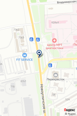 ГСК СПОРТИВНЫЙ на карте Сергиева Посада