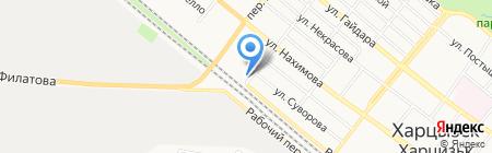 Гастрономчик на карте Харцызска