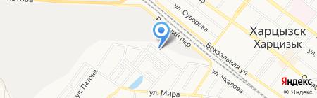 Банкомат Первый Украинский Международный Банк на карте Харцызска