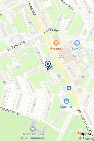 ЖУКОВСКИЙ ПАРК КУЛЬТУРЫ И ОТДЫХА на карте Жуковского