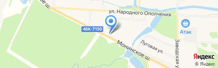 АрхиИдея на карте Аничкова