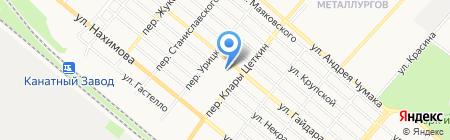 Детский сад №11 Колокольчик на карте Харцызска