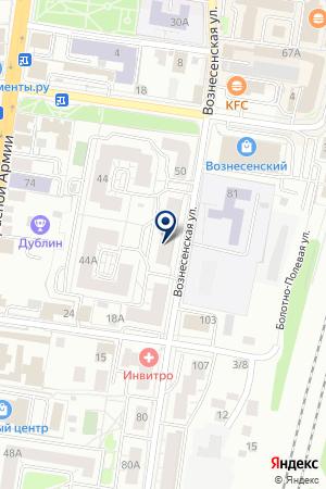 ПКФ ФАЭТОН на карте Сергиева Посада