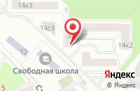 Схема проезда до компании Medlotti в Жуковском
