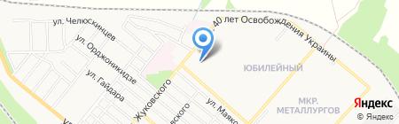 Калинка на карте Харцызска
