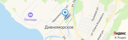 Я и ты на карте Геленджика