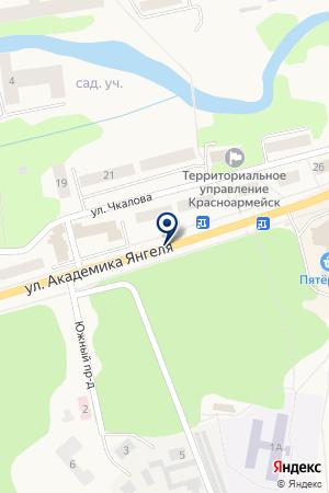 ЛЮБЕРЕЦКАЯ ДЮСШ на карте Красноармейска
