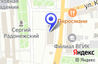 Схема проезда до компании ТЦ МЕЛИССЕНЕ в Сергиевом Посаде