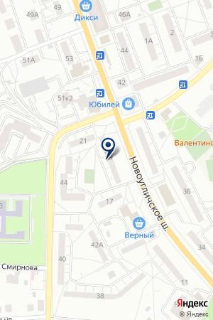 КОМПАНИЯ СПОТОЛОК на карте Сергиева Посада