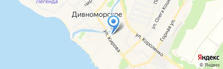 Храм преподобного Сергия Радонежского на карте Геленджика