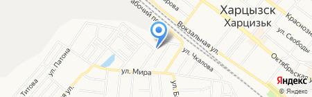 Лайм на карте Харцызска