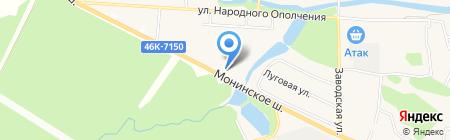 Элегант на карте Аничкова