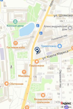 АГЕНТСТВО НЕДВИЖИМОСТИ МАГ на карте Сергиева Посада