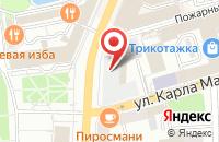Схема проезда до компании Фокус Групп в Сергиевом Посаде