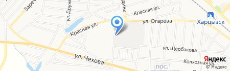 Алина на карте Харцызска