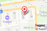 Схема проезда до компании ГИПРОНИИАВИАПРОМ в Жуковском