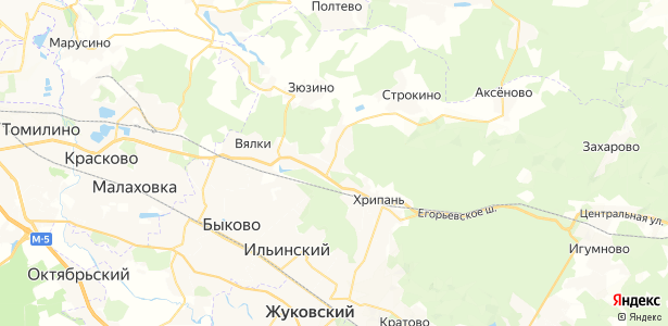 Капустино на карте