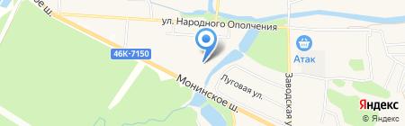 Be Happy на карте Аничкова