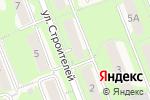 Схема проезда до компании Мособлинформация в Красноармейске