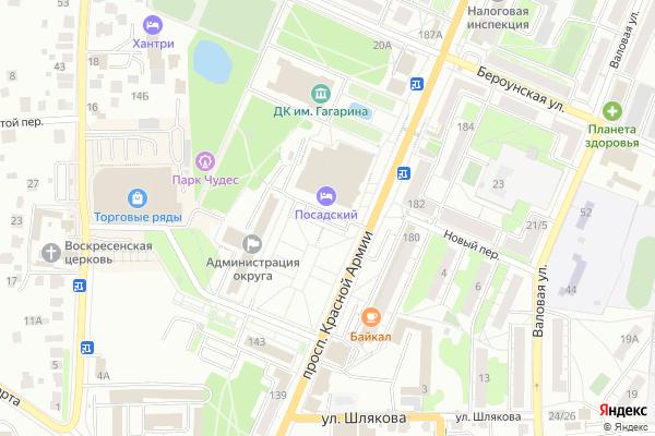 Ремонт телевизоров Город Сергиев Посад на яндекс карте