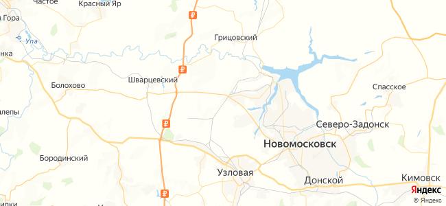 Ожерелье - Урванка электричка в Новомосковске