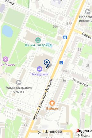КОЛЛЕГИЯ АДВОКАТОВ ХУДЯКОВ И ПАРТНЕРЫ на карте Сергиева Посада