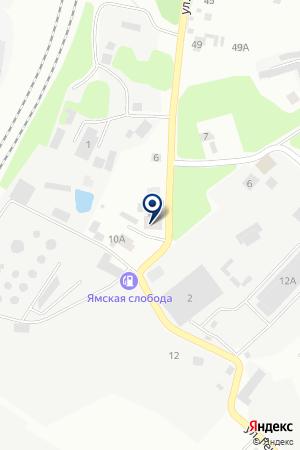 ПТФ МАРИЯ И К на карте Сергиева Посада