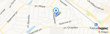 Гастроном продовольственный магазин на карте Харцызска