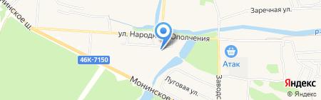 Детский сад №48 на карте Аничкова