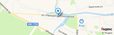 Магазин хлебобулочных изделий на ул. Михаила Марченко на карте Аничкова