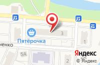 Схема проезда до компании Монро в Свердловском
