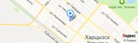 Адвокатские кабинеты Гири Н.А. и Гири Н.М. на карте Харцызска