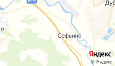 Гостиницы города Становое на карте