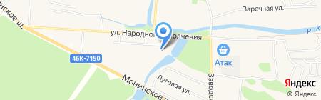 Жилспектр на карте Аничкова