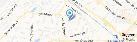 Алла прима на карте Харцызска
