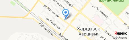 Харцызское управление по газоснабжению и газификации на карте Харцызска