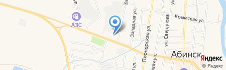 Гарант на карте Абинска