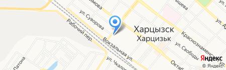 Евролюкс на карте Харцызска