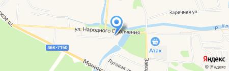 Магазин детской обуви на карте Аничкова