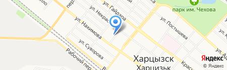 Триумф на карте Харцызска
