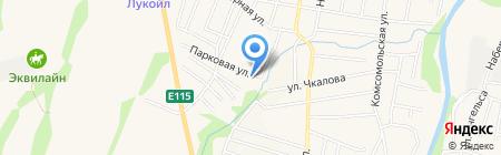 Дилер на карте Абинска