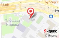 Схема проезда до компании Кают-компания в Жуковском