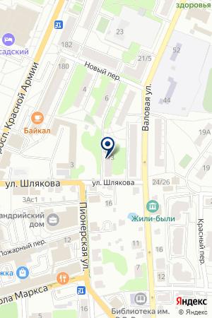 САЛОН КОРРЕКТНОЙ КОРРЕКЦИИ ЗРЕНИЯ на карте Сергиева Посада