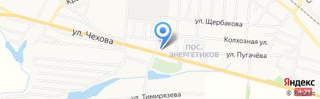 Славянская деревня на карте Харцызска