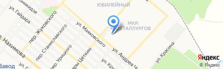 Магазин косметики и парфюмерии на карте Харцызска
