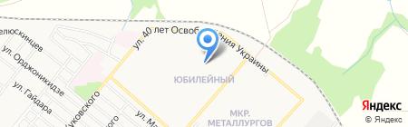 Детский сад №1 на карте Харцызска