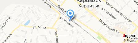 Автолидер 2010 на карте Харцызска