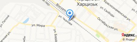 Отдел регистрационно-экзаменационной работы г. Харцызск на карте Харцызска