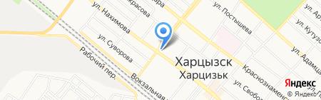 Персона на карте Харцызска